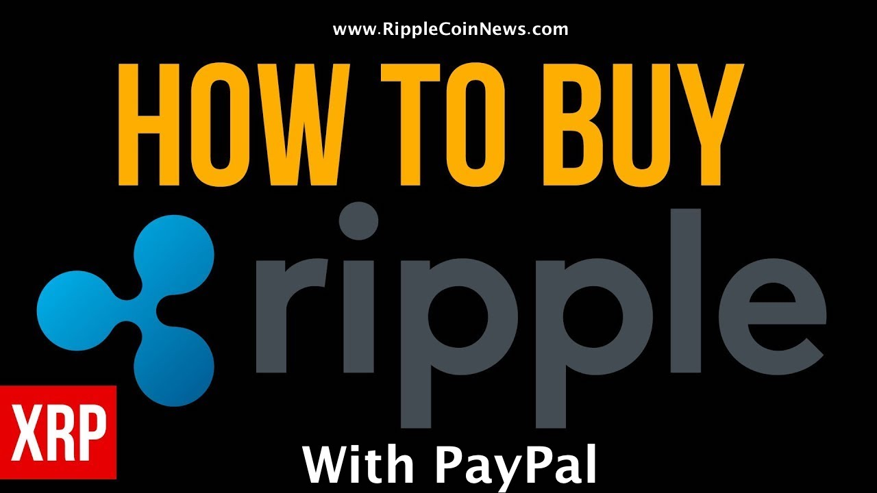 buy ripple paypal