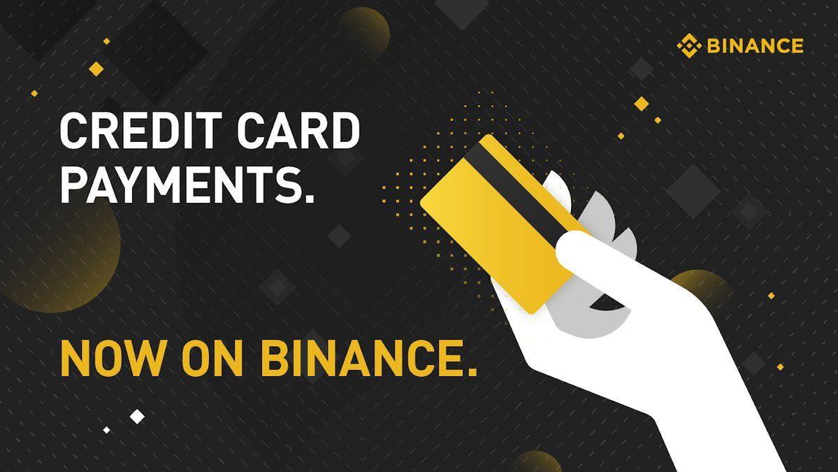Binance Credit card for crypto