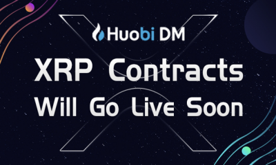 Huobi Derivative Market Announces XRP Contract Launch on March 29
