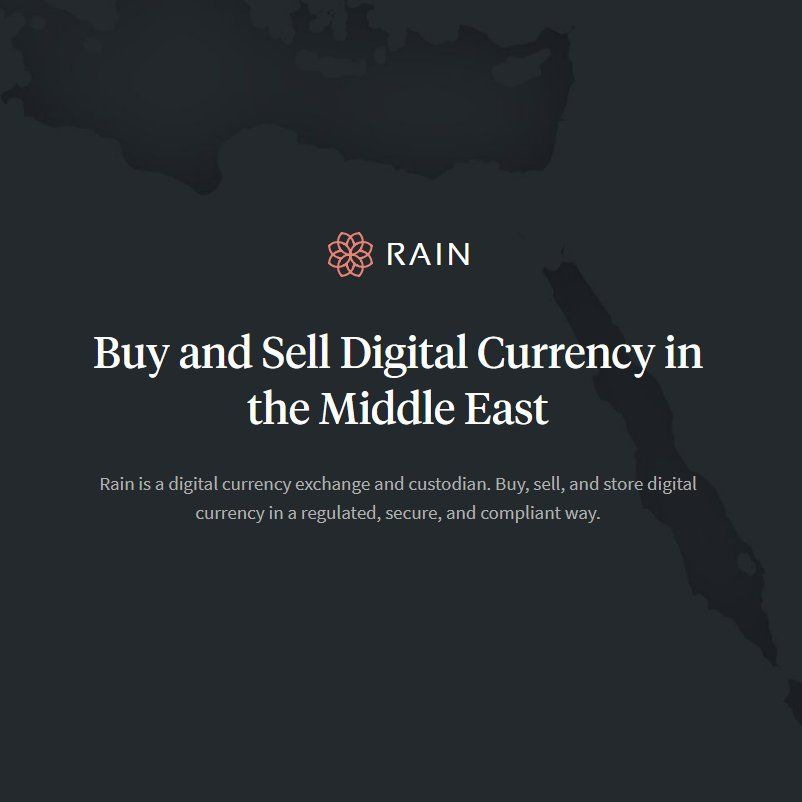 RAin in Middle East