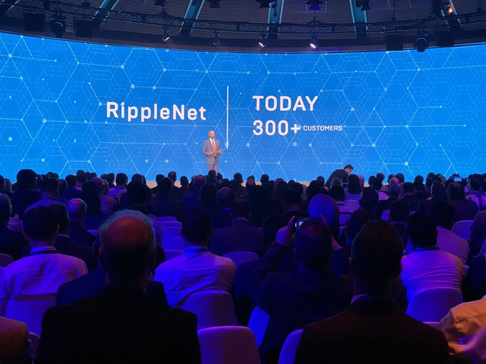 Ripple has Over 300 Customers – Brad Garlinghouse at Swell By Ripple 2019