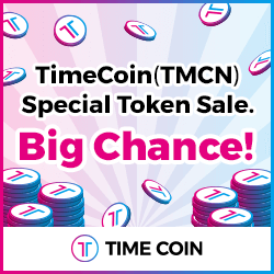 TimeCoin Token Sale